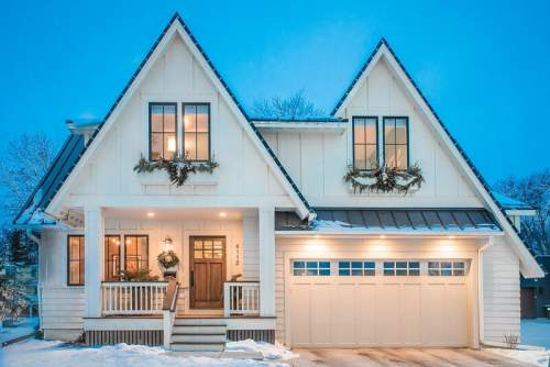 Farmhouse on Grimes — City Homes/Edina and Minneapolis Area Custom Home Builder