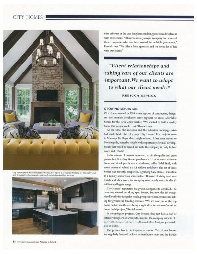 Modern Home Builder — May 2018