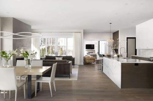 Naturally Modern Residence — City Homes/Edina and Minneapolis Area Custom Home Builder